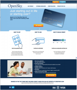 OpenSky homepage